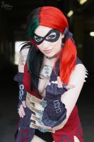 Harley Quinn IV by EnchantedCupcake