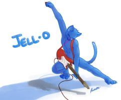 Anthropomorphic JELL-O? by RansomDracalis