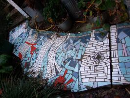 Mosaic path - washing line design by Trucky123
