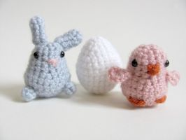 Amigurumi Easter 1 by MevvSan