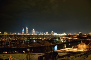 Downtown Cleveland, Ohio by TomKilbane
