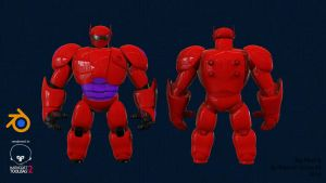 Big Hero 6 by retrogorgon