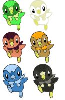 Piplup adoptables-OPEN by Magibu