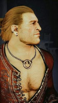 Varric from Dragon Age 3 by 3DFoxHeart
