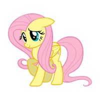 My Sweet Little Fluttershy by RedInk853