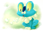 03 Froakie by SkittyStrawberries
