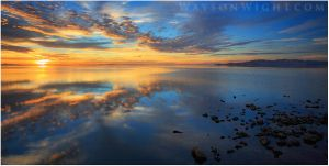 A Great Salt Lake Conclusion by tourofnature
