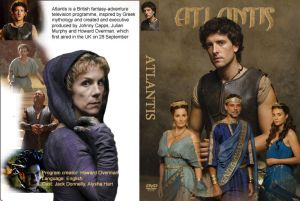 Atlantis series DVD cover
