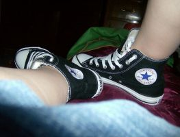 My Converse by CarmenTheRiddLer
