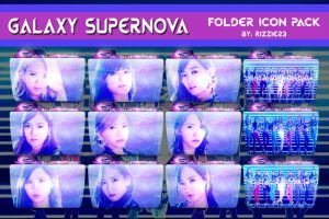 SNSD Galaxy Supernova Folder Icon Pack by Rizzie23