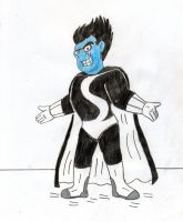 HJ- Drakken as Syndrome by Jose-Ramiro