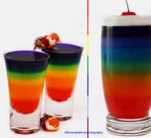 Rainbow Jello by theresahelmer