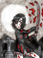 Raining Blood by chickenlady4321