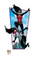 Silk and Spider Woman by mdavidct