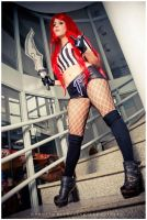 Red Card Katarina - League Of Legends V. by Candustark