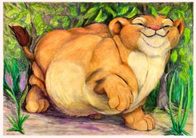 Fat cub Nala by SSsilver-c