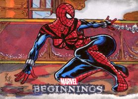 Marvel Beginnings: Spider Girl by ElvinHernandez