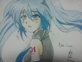 Sad Miku by Simsata