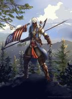 Assassins Creed 3 by Arlequinne