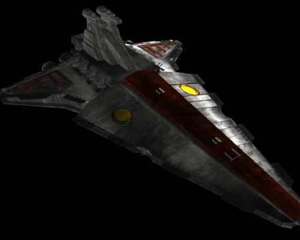 Venator Star Destroyer by Jeff-Destroy