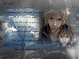 To Relate - Sora and Cloud 2 by AniCoolgirl