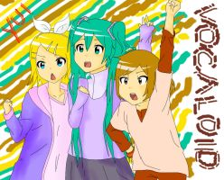 Vocaloid x K-ON by FMA-Vocaloid-Fan