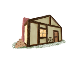 Cottage by Intel-Qube