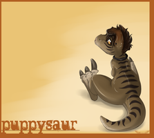 Puppy Dino by Opium5
