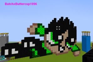 Butch in Minecraft by ButchxButtercup1996