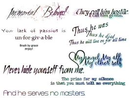 Immortal Beloved Quotes by Graceilyn