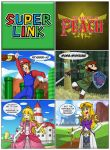 Super Link/The Legend of Peach by Lethalityrush