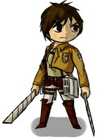Wind waker styled Eren Yeager by soujis