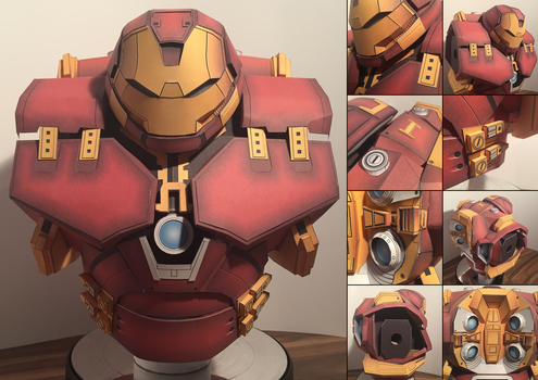 Iron Man Hulkbuster torso by JouzuMania