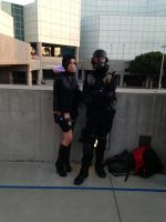 Hunk and Jessica Sherawat wetsuit version by W4RH0US3