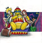 King Dedede -  There Will Be Brawl by Sea-Salt