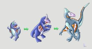 East Moann Water Starters by werepenguin