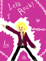 :Klavier is a gay chibi thing: by CharlieIsAMystery