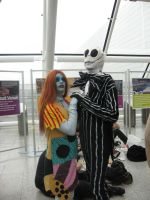 OctMCMExpo2010: Jack and Sally by MammaCarnage