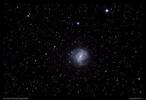 Southern Pinwheel Galaxy M83 by CapturingTheNight