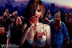 Beautiful Zombie by viancent