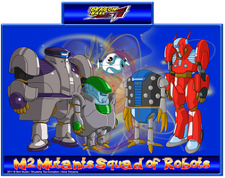 M2 mutants squad of robots by CHangopepe