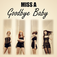 CD COVER.~ MISS A_GOODBYE BABY by Solita-San
