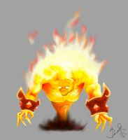 Fire Elemental by Raff88