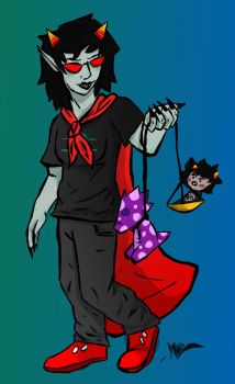 Terezi the Judge by InkyPapers