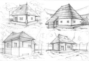 House Sketches 2 by Radu26