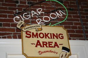 Cigar Room by KelbelleStock