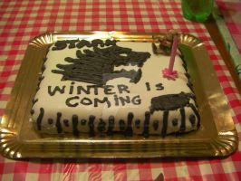 birthday cake -GoT, House Stark- by IrisHitatsumy13