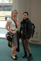 Katniss at Comic Con 2012 by mewpearl