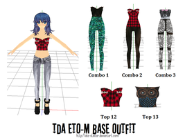 Top Combo Outfit Set 5 by ela-stellar