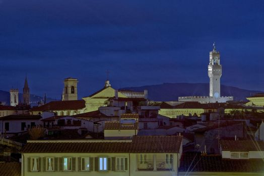 Over Firenze's roofs by eswendel